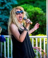 Amber Ferrari: Lake Grove Live on the Green concert 2014